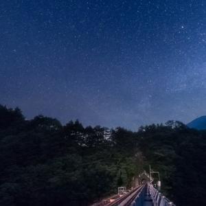 大井川鐡道・井川線『星空列車』の旅☆彡