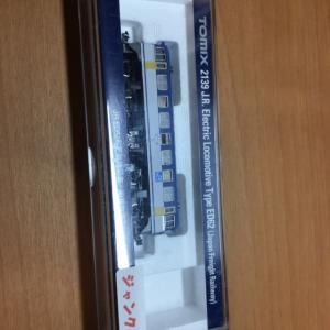 TOMIX ED62(JR貨物色)の入線・整備 その1
