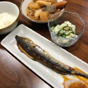 10月18日(金)の夕飯