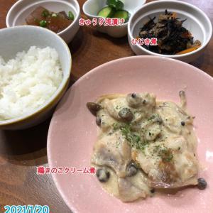 1月20日(水)の夕飯