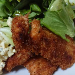 鮭フライと手作りなめ茸の冷やっこ♪~8月21日(火)の夕飯~