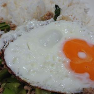 ガパオ、スモークサーモンと大根のサラダ♪~11月12日(月)の夕飯~