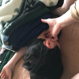 巻き肩直して、安眠を目指そう