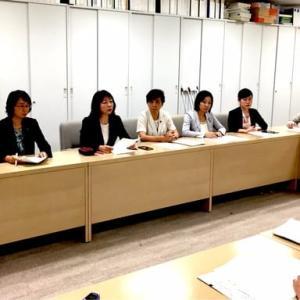 共産党都議団で都教育長あてに「東京2020オリンピック競技大会開催時における学校行事等についての申し入れ」