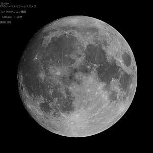 19/11/11 今日のお月様。 月齢14日目だけど小望月!