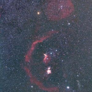 19/11/04 妙義山「身も心も極寒の陣」 part5 スカイメモSで撮ってみました!「オリオン座周辺」