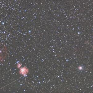 19/12/28 「令和元年 撮り納め式 極寒の三峰の陣」 part5 スカイメモS検証!「IC434 馬頭〜M42 オリオン大星雲〜薄々のIC2118 魔女??」