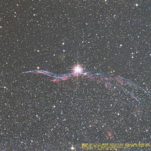 20/08/19  葉月、酷暑の陣 part11  「白鳥座の網状星雲…。NGC6960…。」