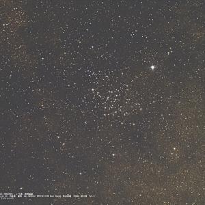 21/06/08  トラブルだらけの梅雨入り直前の陣 part2 「BKPで撮った星像の流れた散開星団 M23(NGC6494)…。」