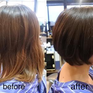 膨らみやすい髪質をカットする時の注意点