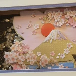 晴れやかな富士山