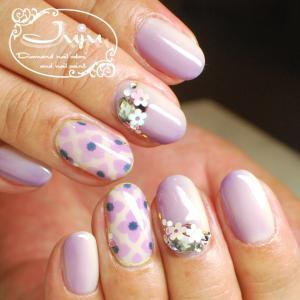エアジェルデザイン「紫陽花モザイクタイル」☆