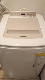 新しい洗濯機は絶好調!!