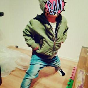 【着画】H&M☆MA-1