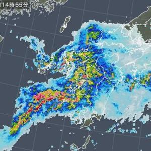 どえりゃー雨降っとるわ!!
