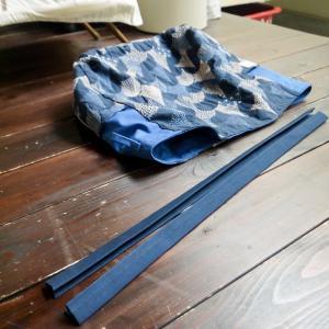 点と線模様製作所の布で作るトートバッグ☆リベンジでようやく思い通りのものができました