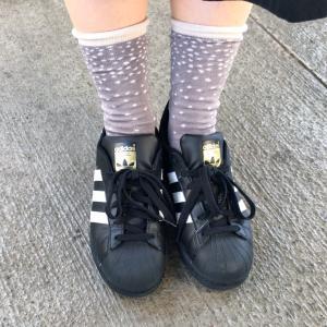 今日の靴と靴下☆おしゃれは足元から