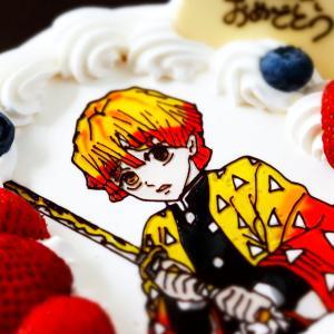 長男9歳の誕生日☆善逸ケーキと初めてのレゴテクニック