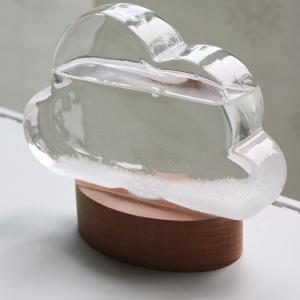 天候によって結晶が変化する気象計☆クラウドストームグラス