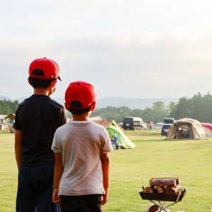 子連れ二泊三日キャンプ☆真ん中のフリーデーを子供たちとどう過ごす?我が家の持ち物