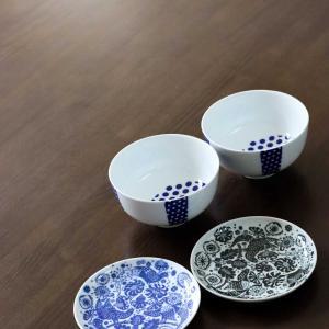 届いた!scope便☆東屋の花茶碗と印判小皿の素敵さに癒される