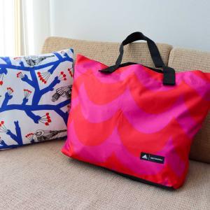 マリメッコ × アディダスのトートバッグに入院準備☆可愛くて便利なめちゃくちゃ使えるバッグです