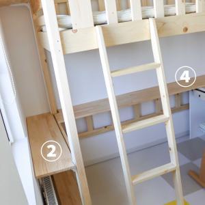 小四・小一の子供部屋づくり⑨☆棚を増設。引き出しシステムの無印アイテムを何にしようか…