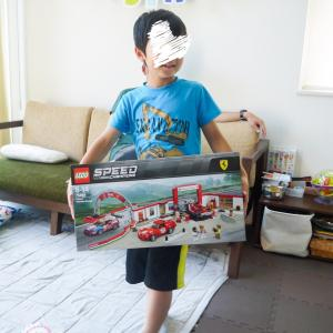 長男8歳誕生日のプレゼント☆久しぶりの大物レゴ。やっぱりレゴはいいーヽ(´▽`)/