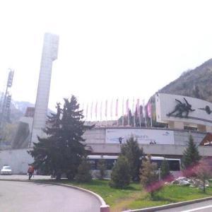 【カザフスタン】アルマトゥイとメデオスタジアム