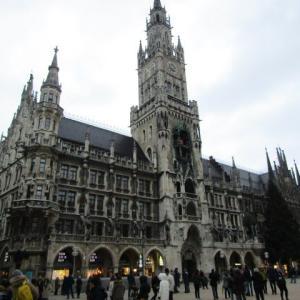【ドイツ】ミュンヘン旧市街にあるマリエン広場