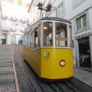 【ポルトガル】坂の街リスボンとケーブルカー