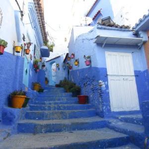 【モロッコ】絶景!青の街シェフ・シャウエン