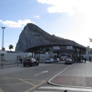 【イギリス】スペインから海外領のジブラルタルへ