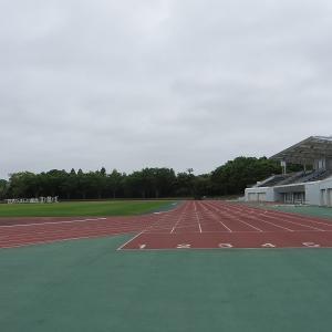 閑散としていた佐倉の岩名運動公園
