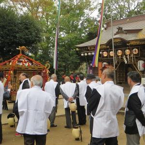 平成30年の佐倉の秋祭りが始まりました
