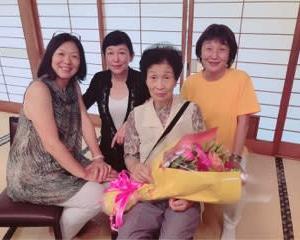 母の米寿祝い