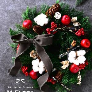 クリスマスリース2019・レッスン案内①