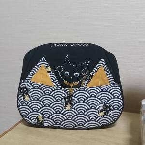 猫に小判と鈴&耳ポケット~ヾ(≧∀≦*)ノ〃