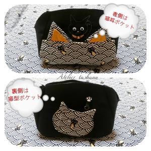 招き猫バッグ!完成間近です!&バレンタイン準備!(^^)!