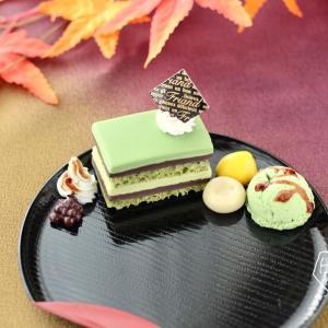 【ご予約受付中】秋にぴったり☆大人の抹茶オペラと和スイーツのアクセサリートレイ