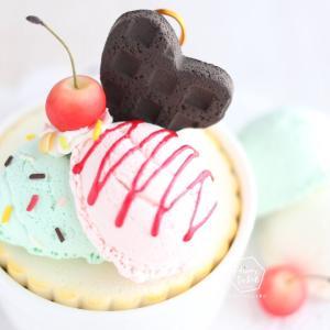 本物そっくりで美味しそう♪なんとお気に入りの彼のデザートに?!【オンラインレッスンレポート】