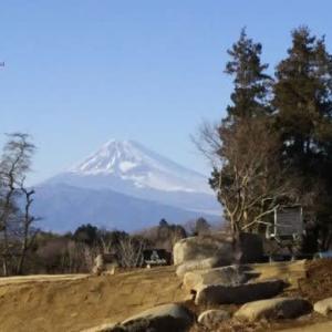 コロナに負けないで・・今日の富士山