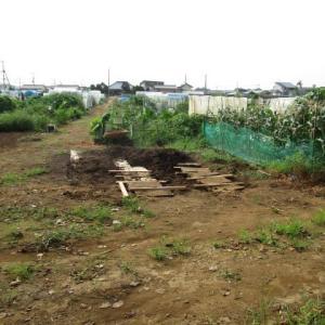8月7日・堆肥受け入れ準備!