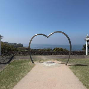 【長崎旅行】石岳展望台の駐車場は、桜の名所ですか?
