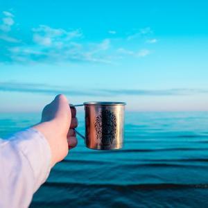 釣りで熱いコーヒーを飲む、手間がかからない、荷物にならない最もオススメな方法!