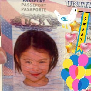 長女のアメリカパスポート到着