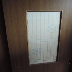 引き戸の窓を掃除しました-障子の窓ガラスって外せるんです!-