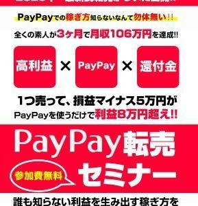 PAYPAYで転売?
