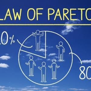 パレートの法則(2:8の法則)