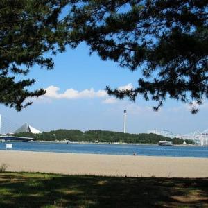 青い海と空~横浜海の公園
